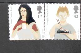CEPT Gastronomie Großbritannien 2327 - 2328 MNH ** Postfrisch - Europa-CEPT