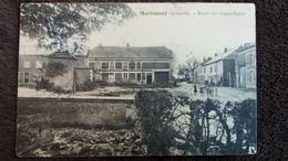 CPA MARLEMONT ARDENNES ROUTE VERS LOGNY BOGNY 1914  2 EME CHOIX PLIEE - Autres Communes