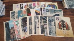 LOT 482625 TIMBRE DE FRANCE PREMIER JOUR 30 CARTES POSTALES 1962 PORT A 2 EUROS BLOC - Collections