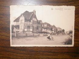 Coxyde : Avenue Lejeune - Koksijde