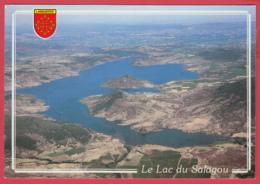 CP-34- LAC Du SALAGOU- VUE AÉRIENNE - *SUP* 2 SCAN- - Altri Comuni