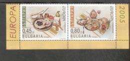 CEPT Gastronomie Bulgarien 4704 - 4705 MNH ** Postfrisch - Europa-CEPT