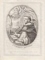 Perkament-charles Jean Corneille Baesten-bruxelles 1833-kleinere Prent - Santini