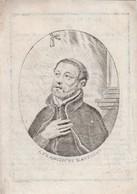 Perkament-religieus Abdij Bornhem-raphael Antoine-anvers 1772-anvers 1843 - Andachtsbilder