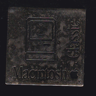 60366-Pin's -macintosh.Apple.informatique. - Informatica