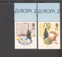 CEPT Gastronomie Jersey 1170 - 1171 MNH ** Postfrisch - Europa-CEPT