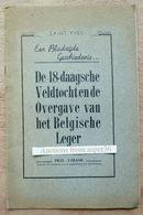 De 18-daagsche Veldtocht En De Overgave Van Het Belgische Leger, Saint-Yves - 1939-45