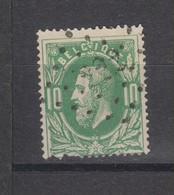 COB 30 Oblitération à Points 222 LOKEREN +2 - 1869-1883 Leopold II