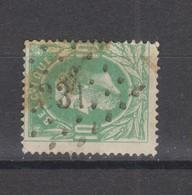 COB 30 Oblitération à Points 331 SELZAETE +6 - 1869-1883 Leopold II