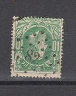 COB 30 Oblitération à Points 82 CHIMAY +3 - 1869-1883 Leopold II