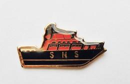 Pin's Bateau Sauveteurs SNS - BATEAUX - Boats
