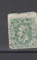 COB 30 Oblitération à Points 57 BRUGELETTE +10 Aminci - 1869-1883 Leopold II
