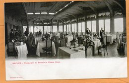 Napoli Bertolinis Palace Hotel Italy 1900 Postcard - Napoli