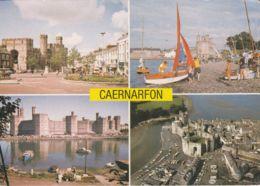 Postcard - Caernarfon Four Views Card No.pgd22810 Unused Very Good - Postcards
