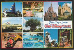 Postcard - Walt Disney World No Card No.. Posted 6th Oct 00 Very Good - Postcards