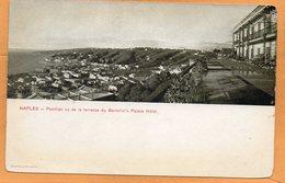 Napoli Bertolinis Palace Hotel Italy 1900 Postcard - Napoli (Naples)