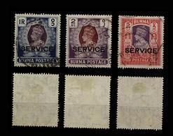 La Birmanie A Utilisé Des Livres Magnifiques 1940 RUB - Birmania (...-1947)
