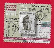 ITALIA REPUBBLICA USATO - 2011 - Giornata Della Filatelia - € 0,60 - S. 3284 - 6. 1946-.. Republic