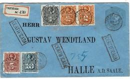 Chile ,1879, 5 Farben - Reko, RR!  , A2805 - Chile