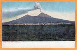 Napoli Italy 1900 Postcard - Napoli