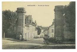 CPA 91 ARPAJON PORTE DE PARIS - Arpajon