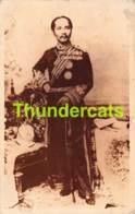 CPA CARTE DE PHOTO SIAM THAILAND REAL PHOTO POSTCARD ROYALTY PARAMINDR MAHA CHULALONG KORN KING OF SIAM ROI - Thaïlande