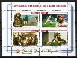 Cuba 2019 / Cuban Revolution Camilo Cienfuegos MNH Revolucionario / Cu15322  C4-11 - Nuevos