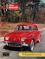 L'Action Automobile Et Touristique, Juin 1960 - Présentation De La Renault Dauphine Gordini, Harry Schell, 404, 24H Mans - Auto/Motor
