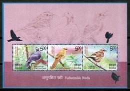 India 2017 / Birds MNH Aves Oiseaux Vögel Uccelli / Cu15238  40-52 - Pájaros