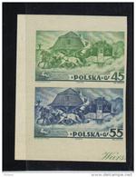 POLOGNE 1938 LES TIMBRES DU BLOC 5 ND ** MNH .  (3PO73) - 1919-1939 République