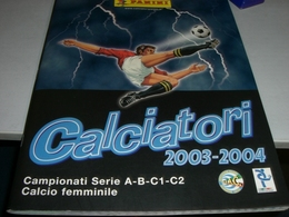 ALBUM FIGURINE CALCIATORI PANINI 2003-2004 - Panini