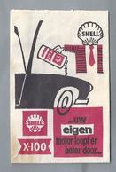 Suikerzakje.- SHELL X-100 .. UW EIGEN MOTOR LOOPT ER BETER DOOR..... Sugar Bag. Embalage De Sucre. Zucchero. Zucker - Suiker