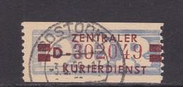 ZKD Wertstreifen Dienstmarken-B Michel Nr. 21 D - Servizio