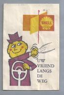 Suikerzakje.- SHELL UW VRIEND LANGS DE WEG. Sugar Bag. Embalage De Sucre. Zucchero. Zucker - Suiker