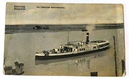 AK  SERBIA   SRBIJA      BEOGRAD  BELGRAD  SHIP  BOAT - Servië