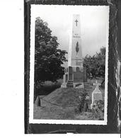 51-BINARVILLE-( Sainte-Menehoulde)- Une Vue Du MONUMENTS Aux MORTS Dedie Au 9e CUIRASSIERS-1914-1918-Carte-Photo - Francia
