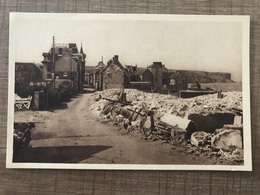 Arromanches Les Bains 1943 La Rue De La Batterie - Arromanches