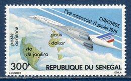République Du Sénégal - Poste Aérienne - YT PA N° 151 - Neuf Sans Charnière - 1976 - Sénégal (1960-...)