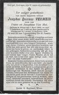 Vermeir J.q.(gesneuveld Wieze 1892 -wackerzeel 1914) - Religion &  Esoterik