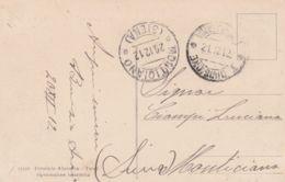 1912 I DIVISIONE/TRIPOLITANIA C2 (21.12) Su Cartolina Non Affrancata Non Tassata - Libia