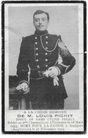 Picrit Louis (gesneuveld  -thieusies 1883 -engeland 1914) - Godsdienst & Esoterisme