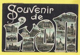 * Lyon (Dép 69 - Rhone - France) * (nr 6086) Souvenir De Lyon, Couleur, Hotel De Ville, Monument Burdeau, Préfecture - Lyon