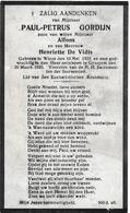 Gordijn Paul-petrus (wieze 1923 -gijzegem 1933) - Religion &  Esoterik