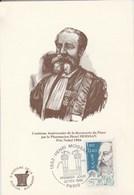 HENRI MOISSAN Prix Nobel 1906 Centieme Anniversaire De La Decouverte Du Fluor 486M - Premi Nobel