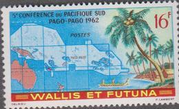 WALLIS ET FUTUNA  1 T Neuf Xx  N° YT 161 - 1962 - 5ème Conférence Pacifique Sud (CPS) - Wallis Und Futuna