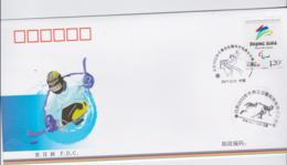 China FDC 2022 Beijing Olympic Games - From 2017 (NB**LAR8-18) - Inverno 2022 : Pechino