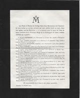 Leuven ( Doodsbrief Van  15 Gesneuvelden WO1) - Religion & Esotérisme