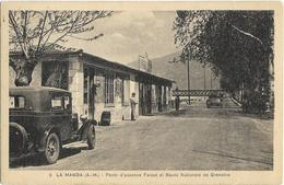 CPA - 06 - La Manda - Poste D'essence Faraut - Otros Municipios