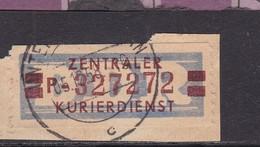 ZKD Wertstreifen Dienstmarken-B Michel Nr. 21 P - Servizio