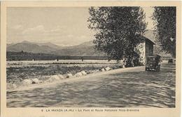 CPA - 06 - La Manda - Pont Et Route Nationale - Otros Municipios